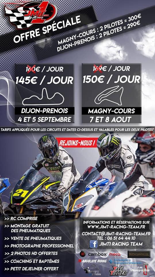 Promo 4 et 5 Septembre Dijon Prenois avec JIMT1 Racing Jimtpr10