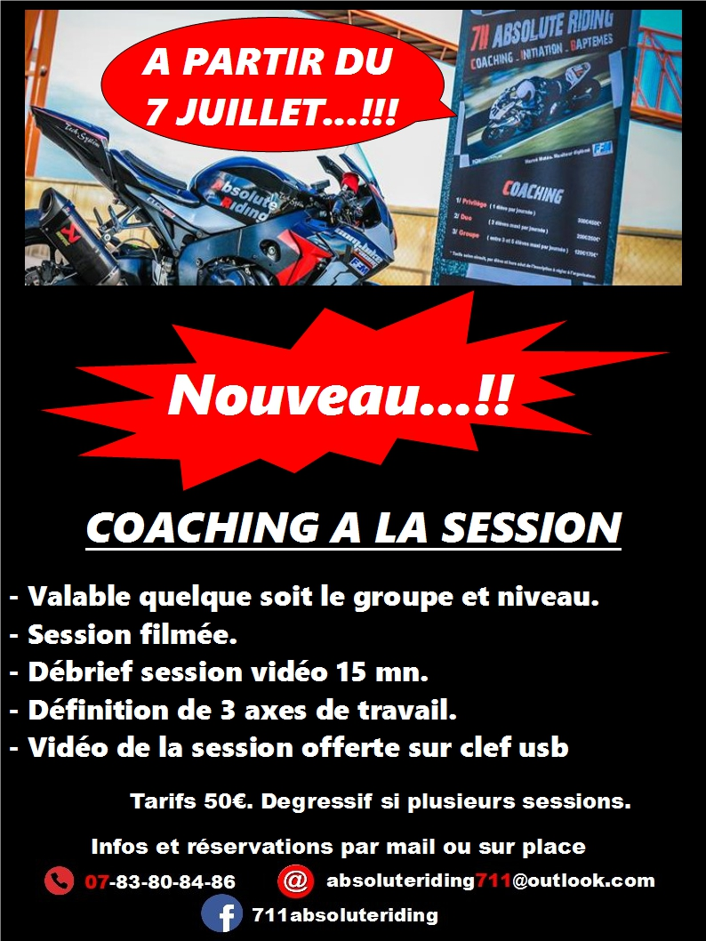 CALENDRIER COACHING BAPTEMES 2018 Sessio10