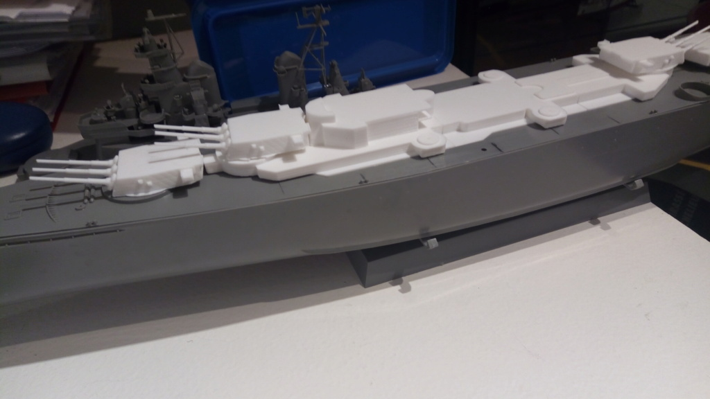 USS MONTANA maquette RC 1/400 P_201910