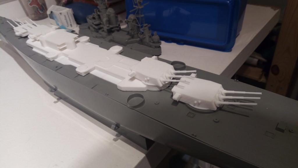 USS MONTANA maquette RC 1/400 P_201911