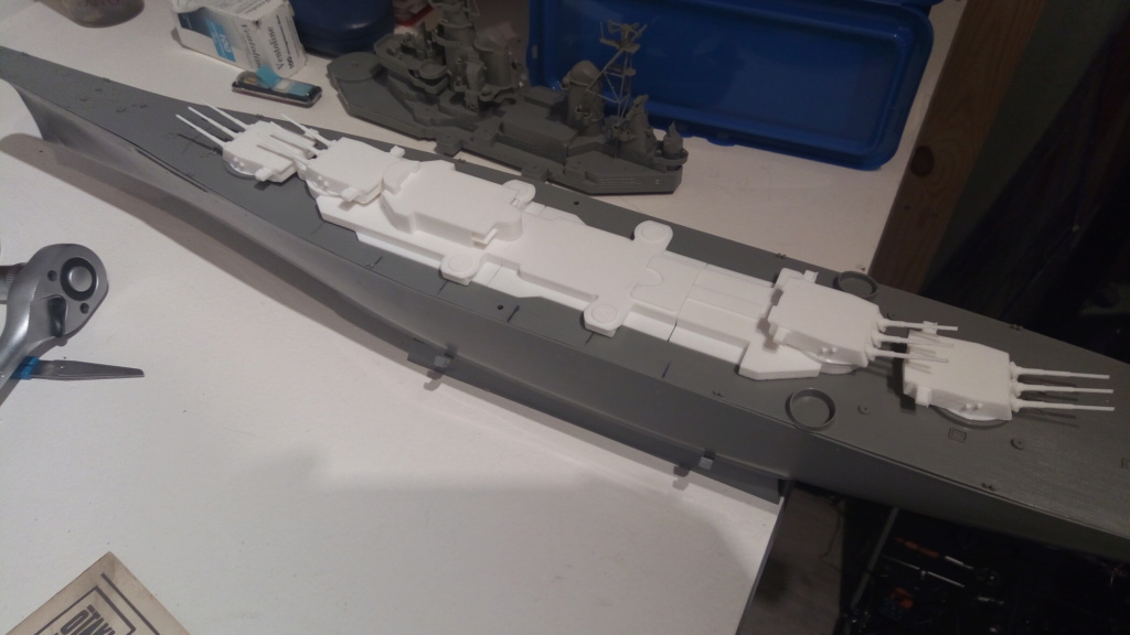 USS MONTANA maquette RC 1/400 P_201912
