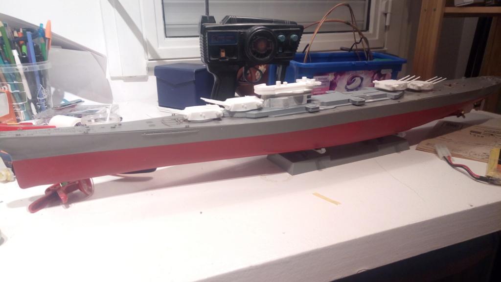 USS MONTANA maquette RC 1/400 P_201925
