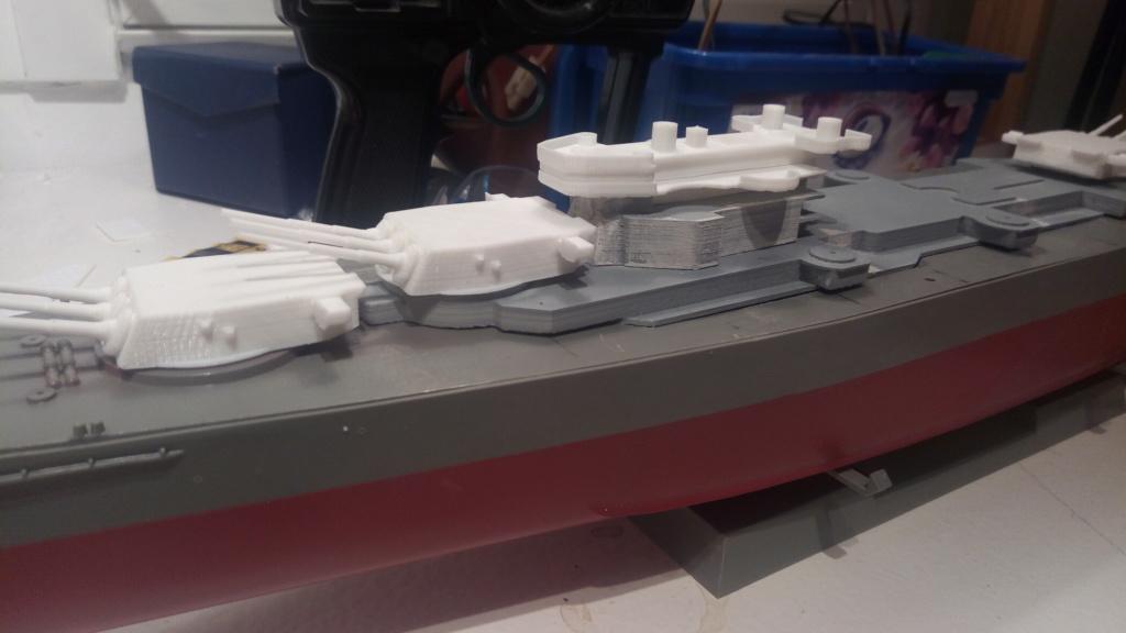 USS MONTANA maquette RC 1/400 P_201926