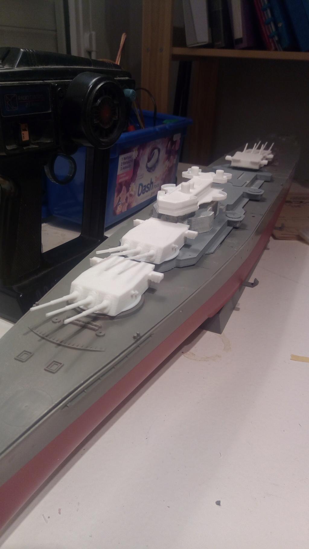USS MONTANA maquette RC 1/400 P_201927