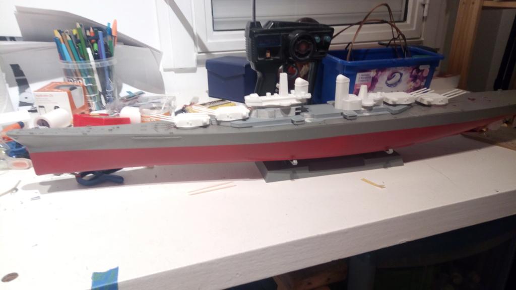 USS MONTANA maquette RC 1/400 P_201929