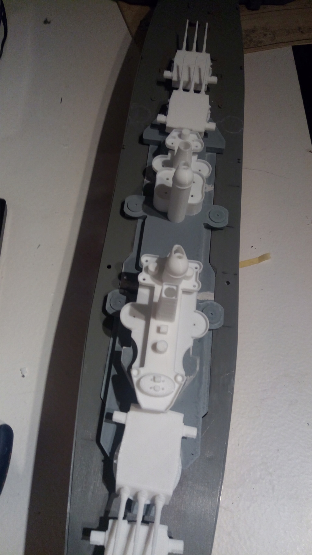 USS MONTANA maquette RC 1/400 P_201930