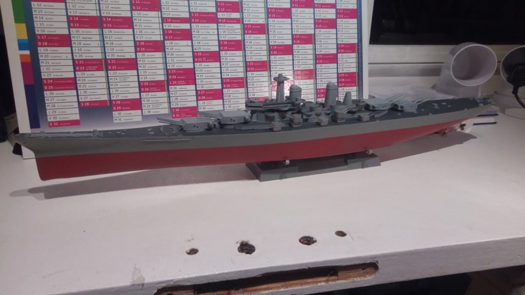 USS MONTANA maquette RC 1/400 P_201932