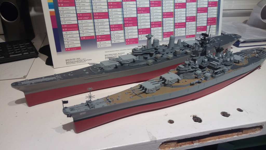 USS MONTANA maquette RC 1/400 P_201937
