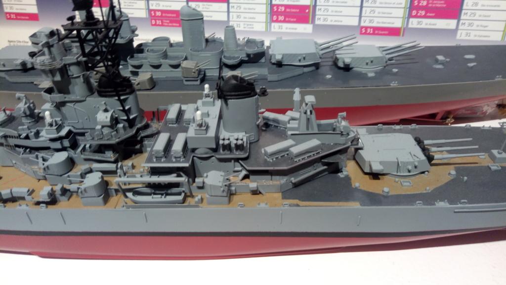 USS MONTANA maquette RC 1/400 P_201938