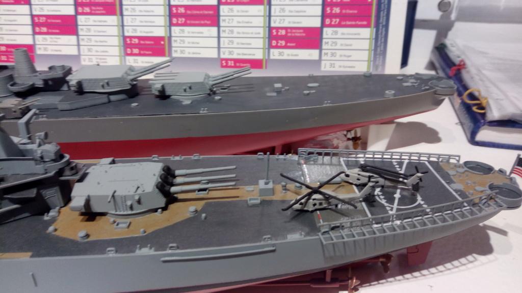 USS MONTANA maquette RC 1/400 P_201939