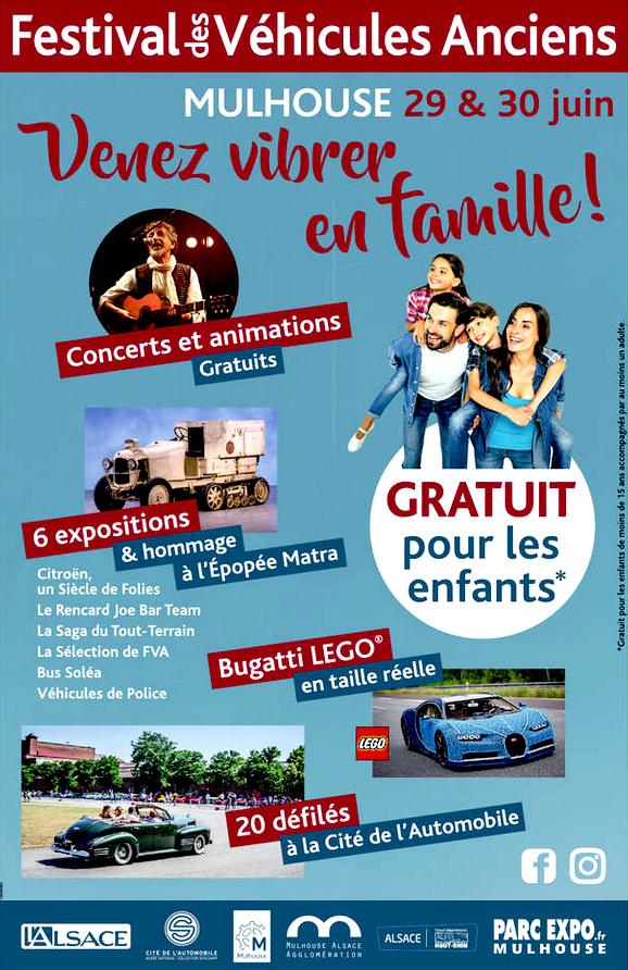 Festival des Véhicules Anciens - MULHOUSE. Fva-010