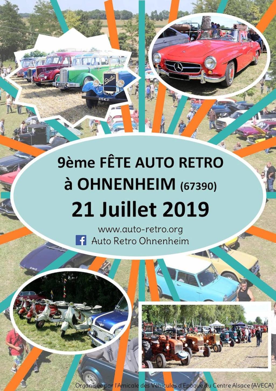 9ème Fête Auto Rétro - OHNENHEIM 2019. Ohn2211