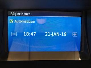 Date et heure Gps Gps11