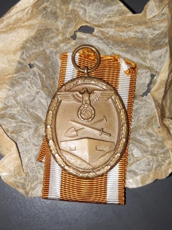 Authentification Médaille du Mur de l'Ouest 2019-114