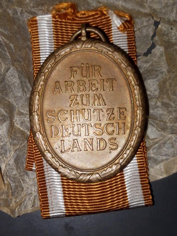 Authentification Médaille du Mur de l'Ouest 2019-115