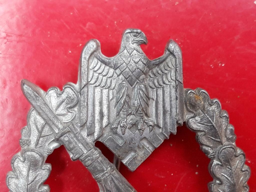 Insigne de combat d'infanterie 20190624
