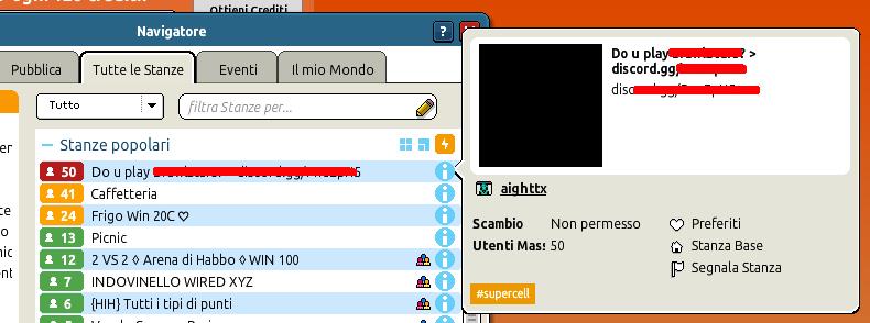 Un attacco Spam BOT sta colpendo Habbo.it Scherm15