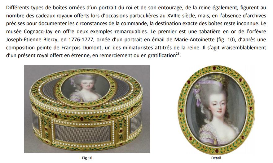 Petits portraits en miniature, en émail et sur porcelaine, dans la collection d'Ernest Cognacq  Zzzz211