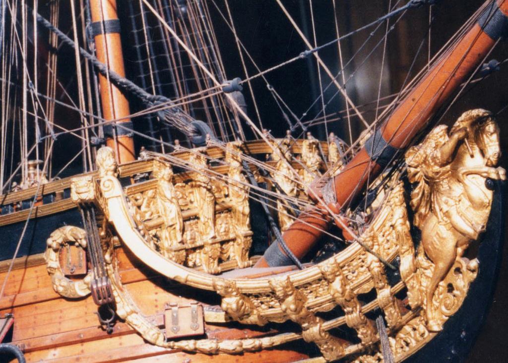 Fregate H.M.S Surprise au 1/48 de A.L - Page 6 Prince10
