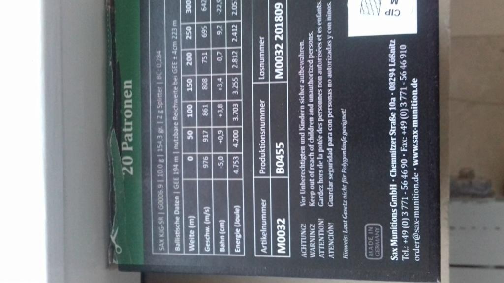 munition SAX 9,3x74R balle 10grammes V0 951 m/s - Page 3 20190181