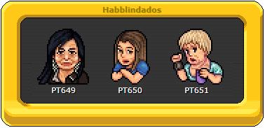 """Sucesso! Com seus memes usados até hoje, Gretchen, Nicole Bahls e a T*lla Luana viram """"emblema de pixels"""" no Habbo Hotel. E internautas comentam: 'A falecida vai processar a Sulake'. Img_2010"""