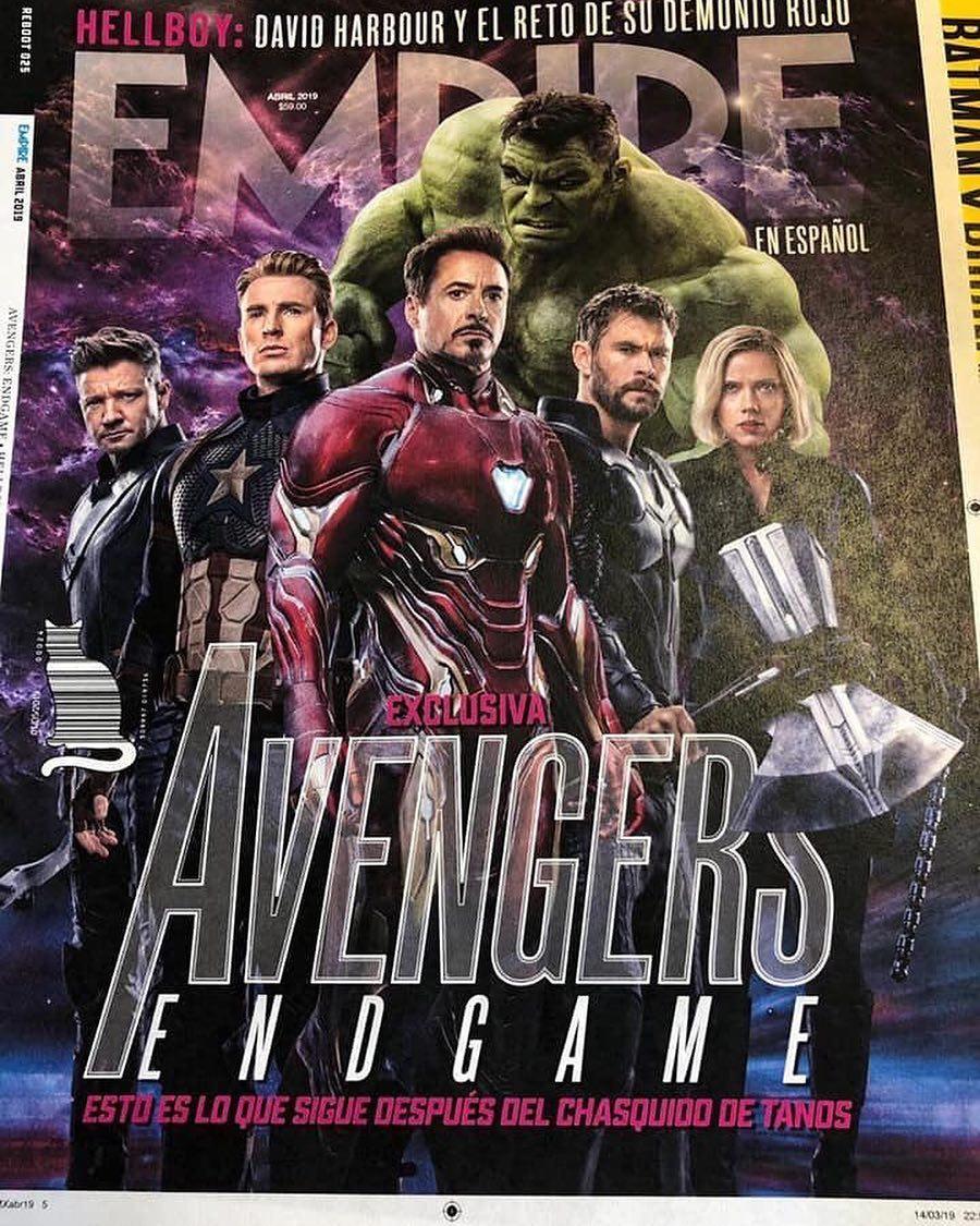 """Capa de """"Vingadores: Ultimate"""" para a revista Empire  Img_2043"""