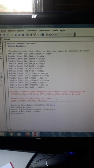 [Resolvido]Vb7 não está funcionando e da erro de execução sem o número do erro 16160712