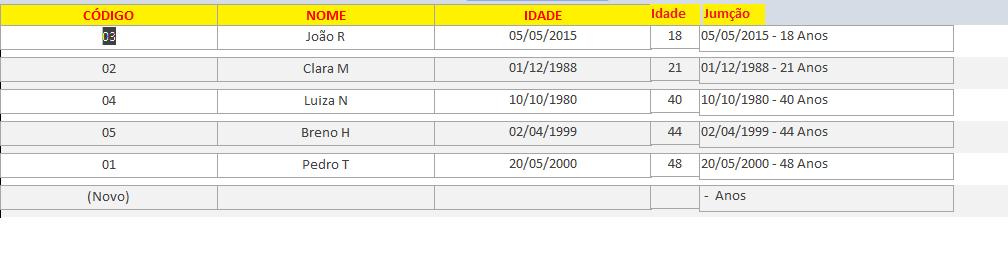 [Resolvido]Classificar dados específico em um campo 220