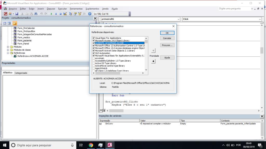 [Resolvido]Instalar biblioteca - Erro compilação Sem_tz46