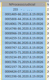 [Resolvido]Problema na filtragem Tbl10