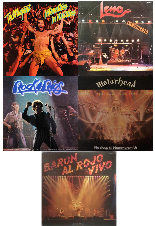 HEAVY METAL 80/85. Los directos 00610