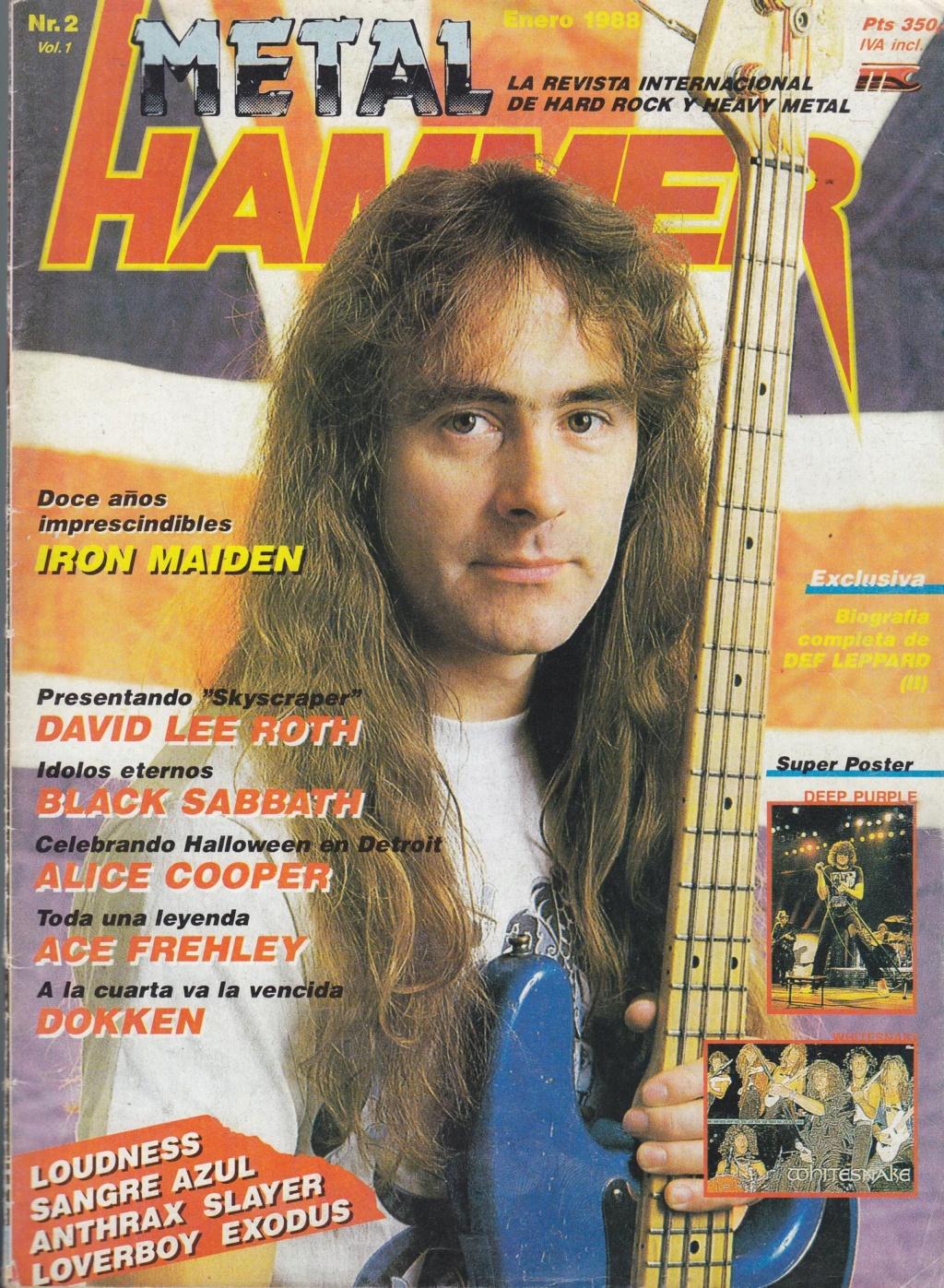 METAL HAMMER #01, Diciembre de 1987 Metal-10