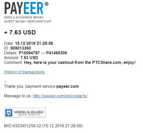[COMPLETA]  PTCSHARE - Standard - Refback 80% - Mínimo 1$ - Rec. Pago 2 Pagopt11