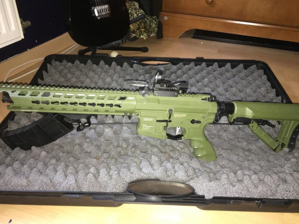 M4 type GC16 Predator Hunter G&G FULL UPGRADE 350eu 43582813
