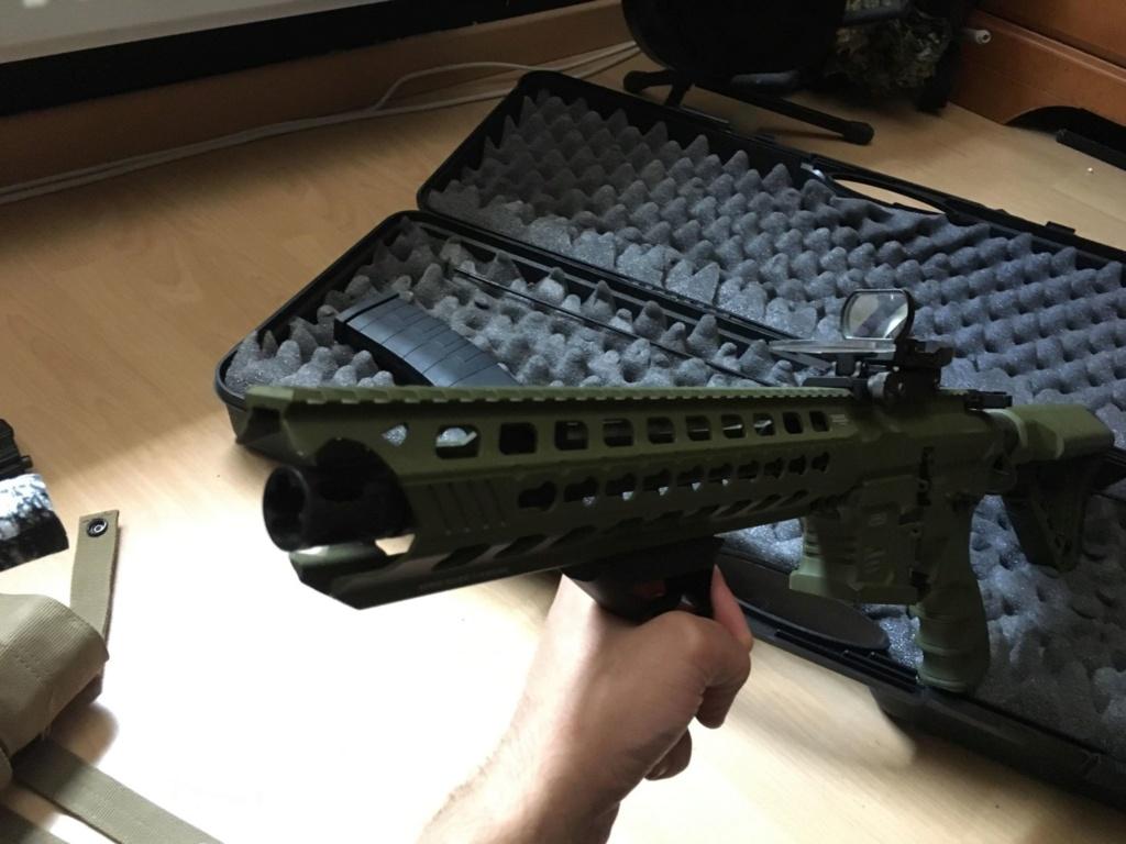 M4 type GC16 Predator Hunter G&G FULL UPGRADE 350eu Vente211
