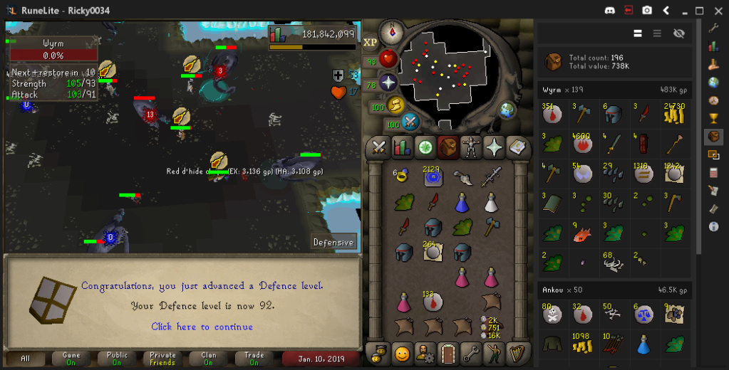 ricky0034's screenshot dump thread - Diary cape+Music cape done - Page 8 Defenc11