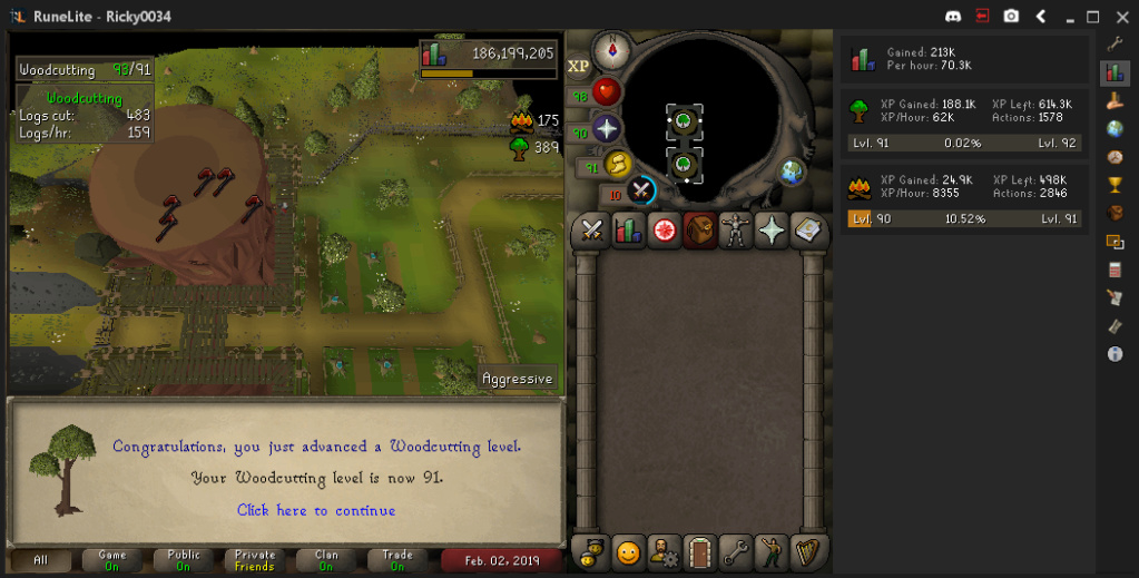 ricky0034's screenshot dump thread - Diary cape+Music cape done - Page 8 Woodcu10