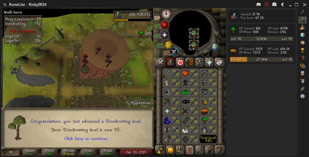 ricky0034's screenshot dump thread - Diary cape+Music cape done - Page 8 Woodcu11