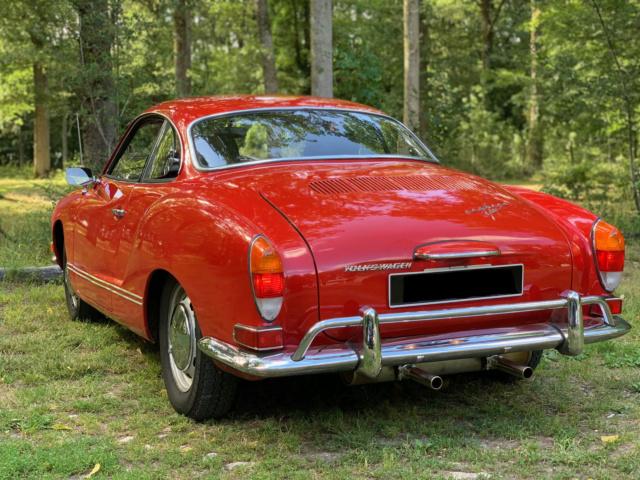 Karmann ghia 1970 Rouge Origine USA - Page 3 Img_2613