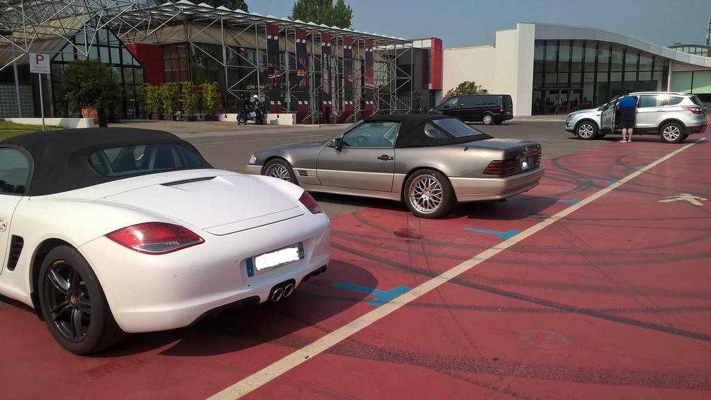 Les deux musées Ferrari de Modène - Page 2 Wp_20302