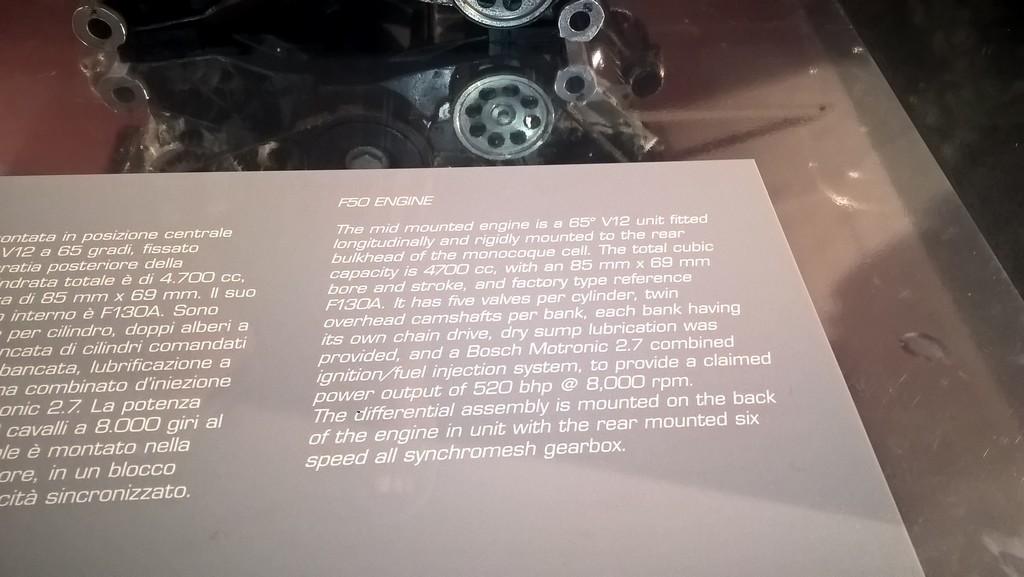 Les deux musées Ferrari de Modène - Page 2 Wp_20315