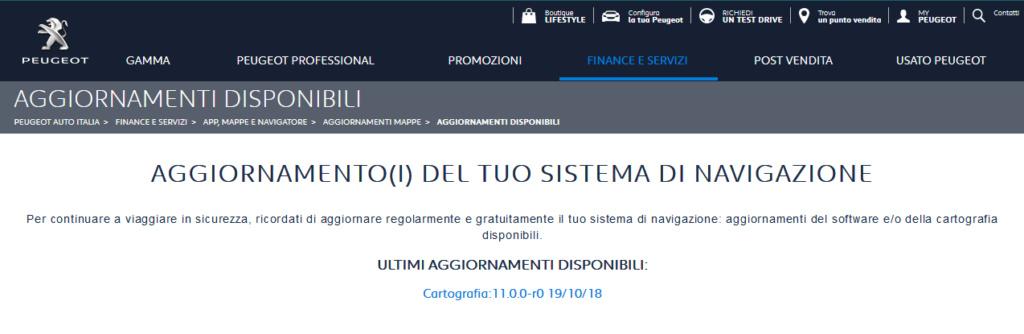 Aggiornamento mappe gratuito dal sito di Peugeot - Pagina 30 Screen10