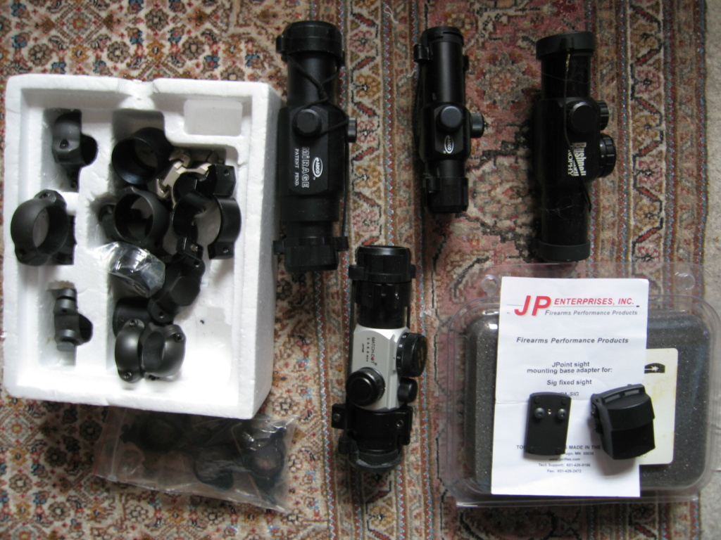 Sold assorted red dot sights and rings Img_0116