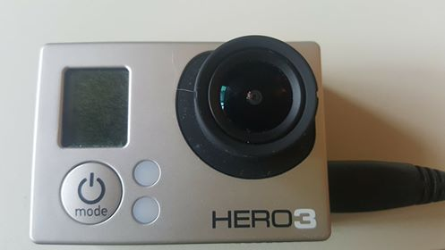GoPro 3 bloquée avec écran pixélisé 21624210