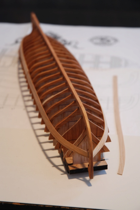 Barge royale - Reine Anne - 1750 - Syren Ship Model Company - 1:24 Barge_25