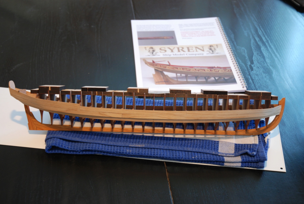 Barge royale - Reine Anne - 1750 - Syren Ship Model Company - 1:24 Barge_28
