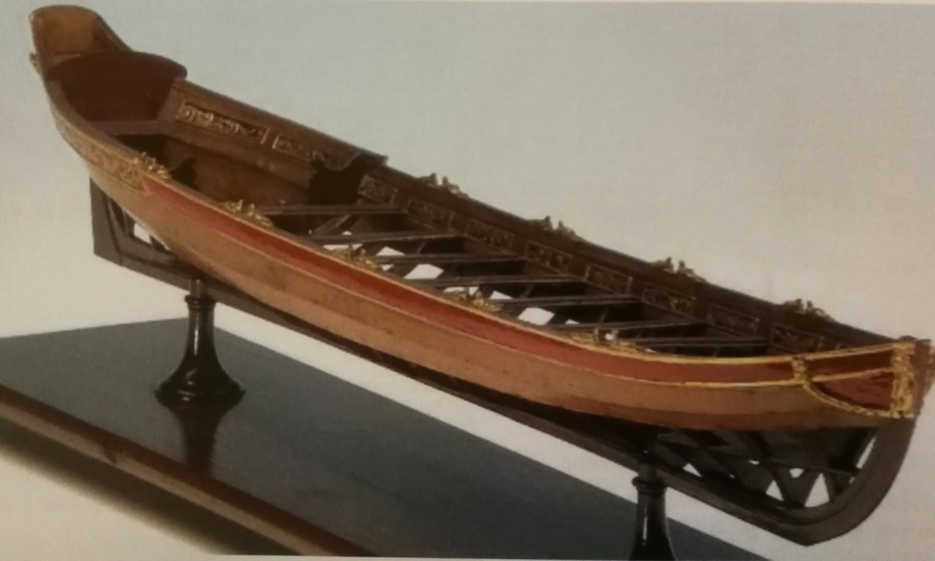 Barge royale - Reine Anne - 1750 - Syren Ship Model Company - 1:24 Barge_31