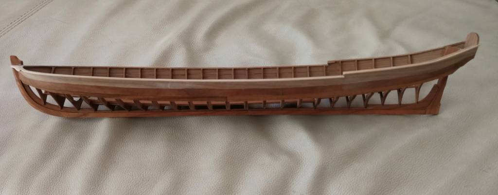 Barge royale - Reine Anne - 1750 - Syren Ship Model Company - 1:24 Barge_42