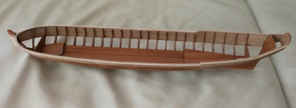 Barge royale - Reine Anne - 1750 - Syren Ship Model Company - 1:24 Barge_43
