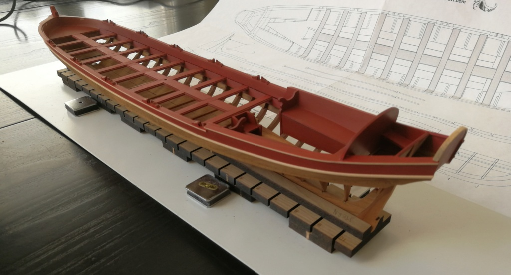 Barge royale - Reine Anne - 1750 - Syren Ship Model Company - 1:24 Boxwoo10